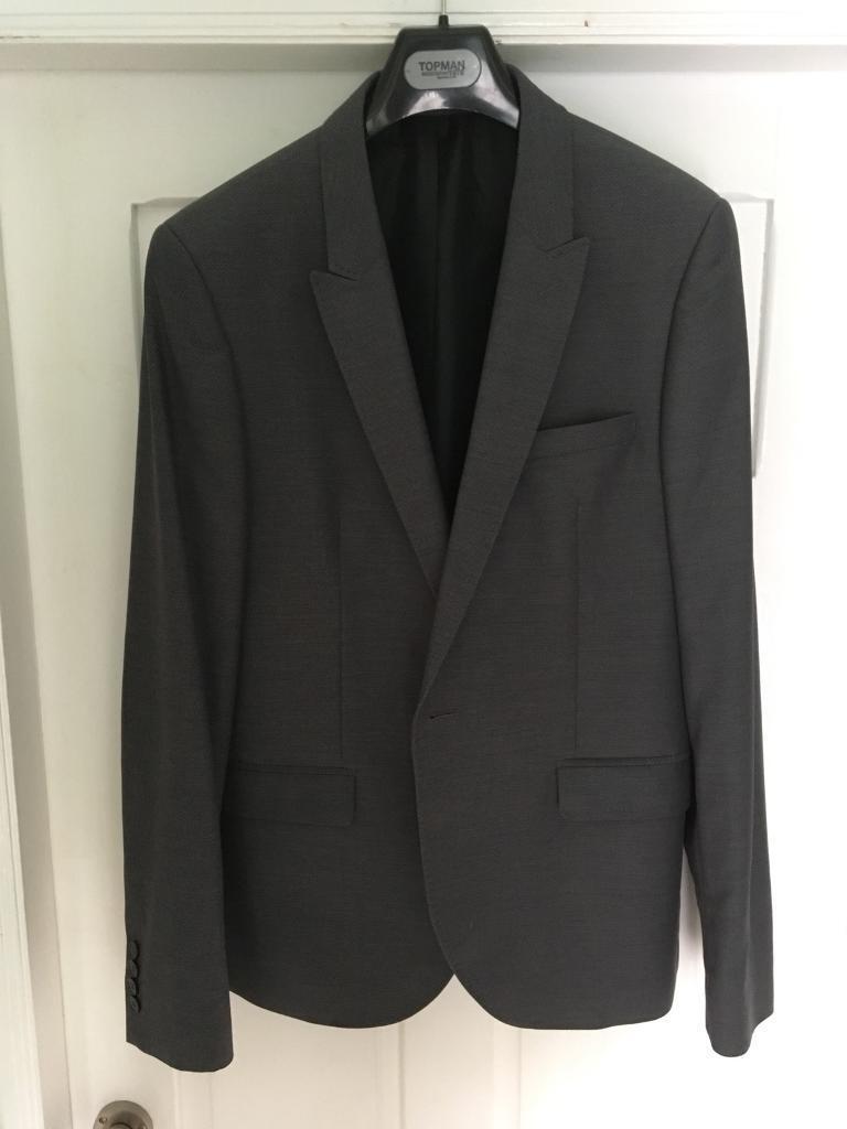 Grey Topman Suit prom wedding | in Hull, East Yorkshire | Gumtree
