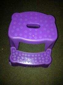 Children's 2 Step Stool (Purple)