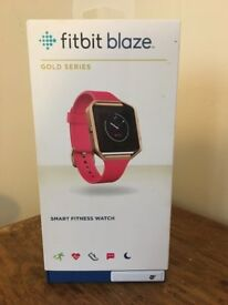 FITBIT BLAZE PINK & GOLD NEW (OTHER)