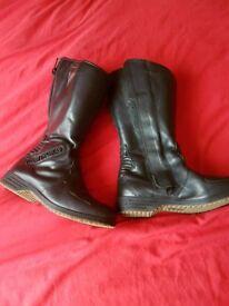 Motorbike boots (ladies)