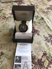 Rotary Editions automatic waterproof watch in perfect condition.