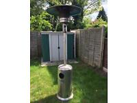12KWStainless Steel Outdoor Garden BBQ Grill Gas Patio Heater