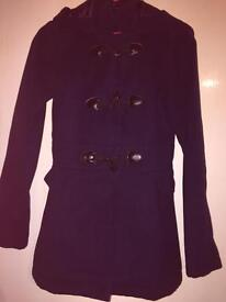 Girls navy George coat, Age 12-13 years