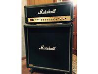 Marshall Amp Stack - JCM 2000 DSL 100 with 4x12 Marshall cab