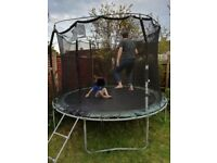 Large Outdoor Trampoline - reasonable condition