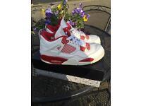 Jordan 4 fire reds
