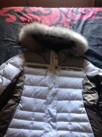 Ice pack ski coat