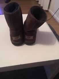 2 x pairs one pair genuine ugg both size 13