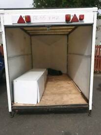 box trailer brand new axel fitted