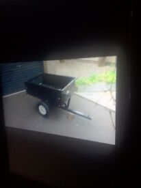 Are you looking for a cheap Lawnmower/quad tipping trailer