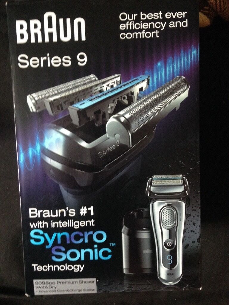 braun series 9 9295cc chrome new and sealed in battersea london gumtree. Black Bedroom Furniture Sets. Home Design Ideas
