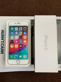 iPhone 6 02 - Giffgaff 64GB Gold Excellent condition