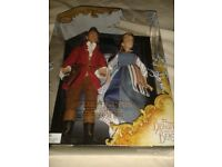 NEW AND SEALED DISNEY BEAUTY AND THE BEAST DOLLS UNWANTED GIFT