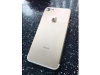 Iphone 7 32gb unlocked gold brand new