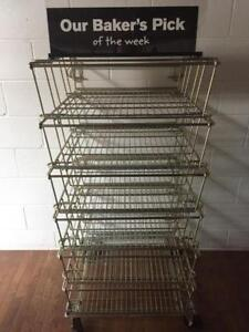 Wire Dump Display Bin Merchandisers