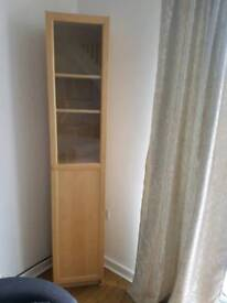 Bookcase oak veneer IKEA BILLY/OXBERG