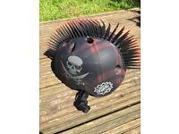 Krash plaid holly roger helmet
