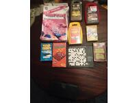 A group of travel games