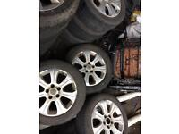 Vauxhall Vectra Astra Zafira alloys wheels with tyres 205 55 r16