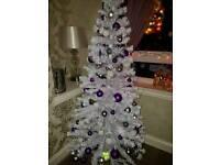 6ft fibre optic xmas tree