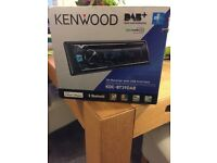 KENWOOD CAR STEREO DAB CD BLUETOOTH AUX