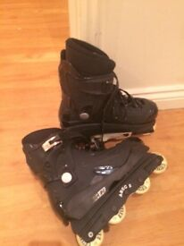 Good condition roller blades size 6