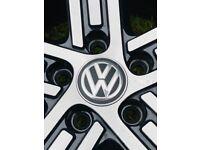 NEW TYER EXCELLENT CONDITION GENUINE VOLKSWAGEN VW GOLF R ALLOY WHEEL CADIZ & GTD GTI 225 40 18
