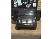 Mercedes G-Wagon G65,Parental Remote & Self Drive, Matt Black