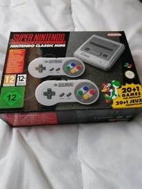 Super Nintendo Mini New still BOXED! £70