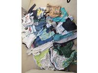 Baby boy clothes 9-12 month - huge bundle