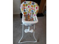 Greco highchair as new