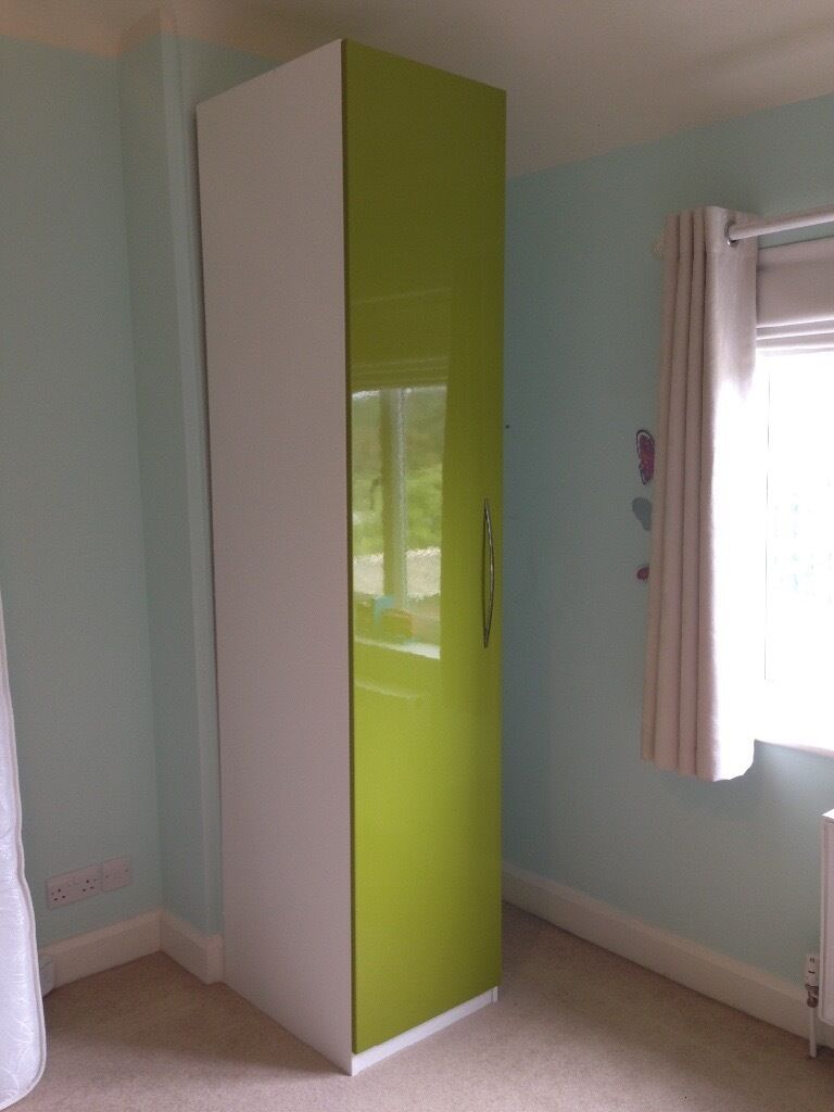 Single Pax Ikea Wardrobe In Good Condition In Esher