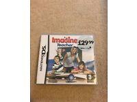 Nintendo DS Game - Imagine Teacher