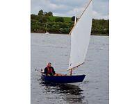 Sailing Dinghy: Skerry (Balanced Lug Rig) Sailing, Rowing, Motoring Cruising Light Craft