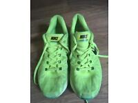 Nike bright green trainers size 6