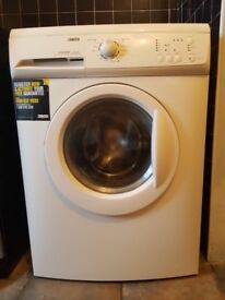 Zanussi flexi dose washing machine, like new, perfect working order, 7kg 1600 spin