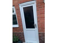 PVC double glazed door