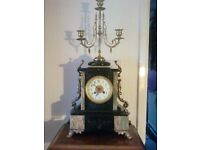 antiques french clock by samuel marti 1879.