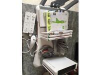 NINTENDO Wii FIT WITH FIT BOARD AND 4 GAMES £30