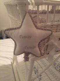 Hand made baby's crib