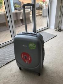 Brand New Medium Ultralight Suitcase - Silver