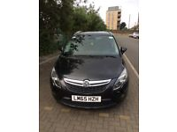 Vauxhall Zafira 7 Seater black for sale