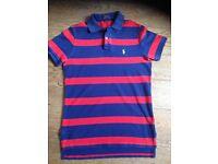 Ralph Lauren Polo Shirt Age 12 Excellent Condition