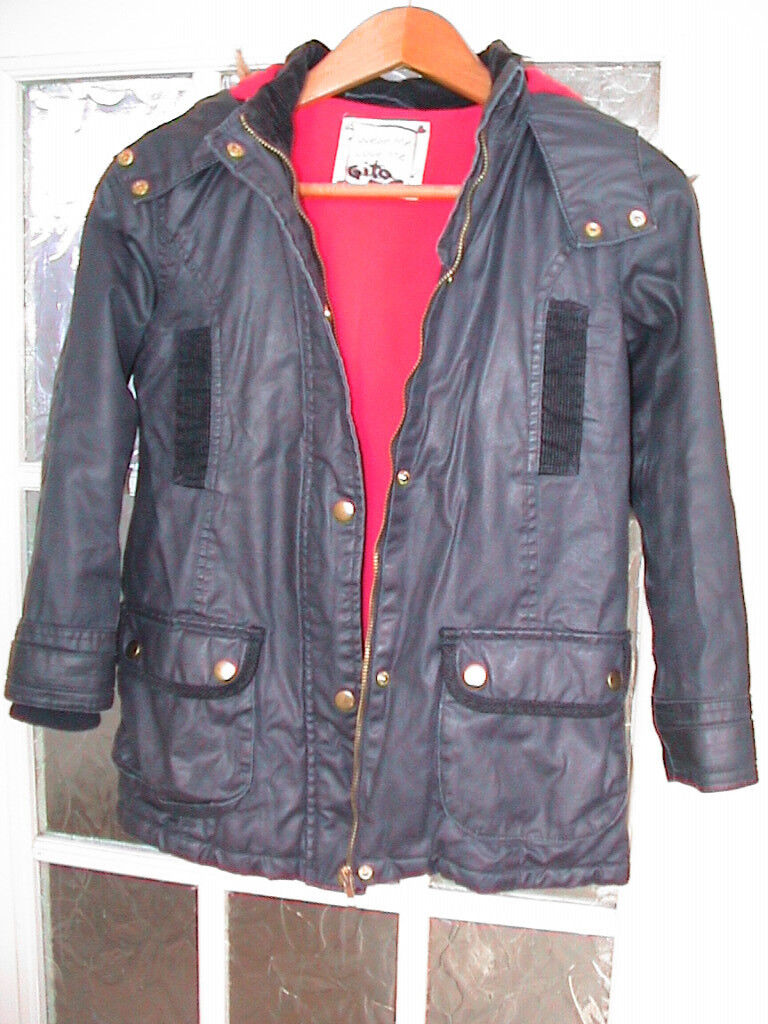 Girls winter jacket. Warm and comfy.