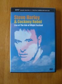 Steve Harley & Cockney Rebel ‎– Live At The Isle Of Wight Festival DVD
