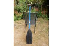 1 x Canadian Style Plastic Paddle Oar Canoe Water Sport