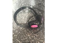 Girls headphones. Never used unwanted present