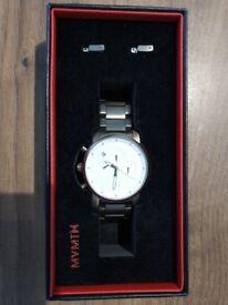 MVMT Chronograph White Titanium watch