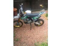Kmx 140 cc big wheel pitbike