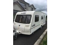 2006 Bailey pageant champagne, 4 berth family van. Non Smoker